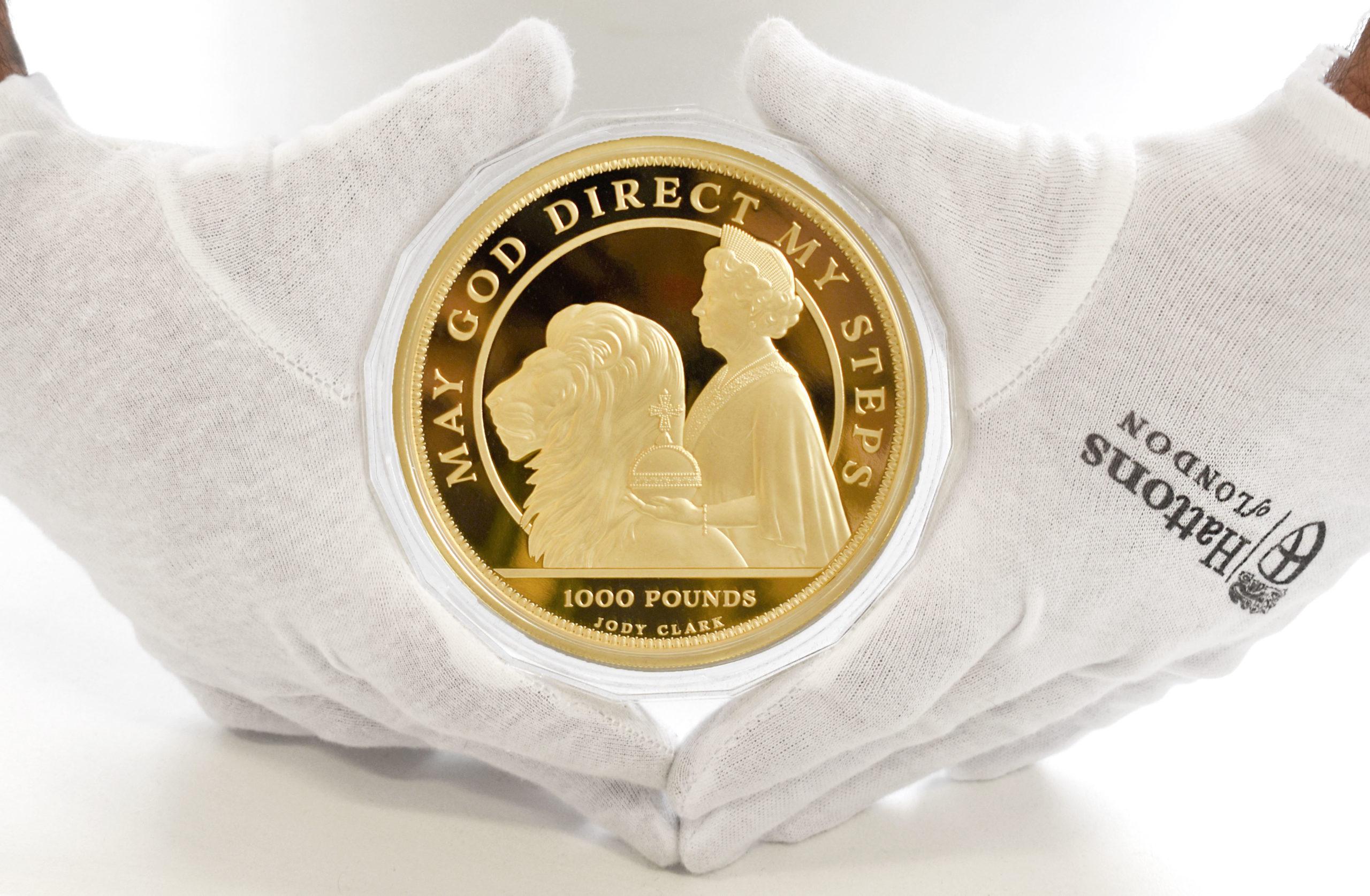 QEII 95th One Thousand Pound Sovereign