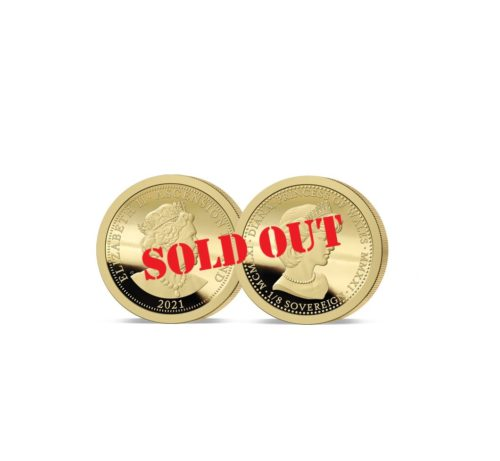 The 2021 Diana 60th Birthday One-Eighth Gold Sovereign SOLD OUT