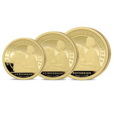The 2021 Queen's 95th Birthday Prestige Three Coin Set