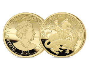 George and the Dragon 200th Anniversary Gold £20 Sovereign