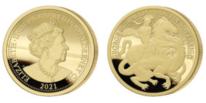 George and the Dragon Double Sovereign