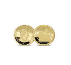 Queen's 95th Birthday one-eighth sovereign