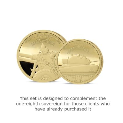 We Will Remember Them Fractional Infill Gold Sovereign Set Set