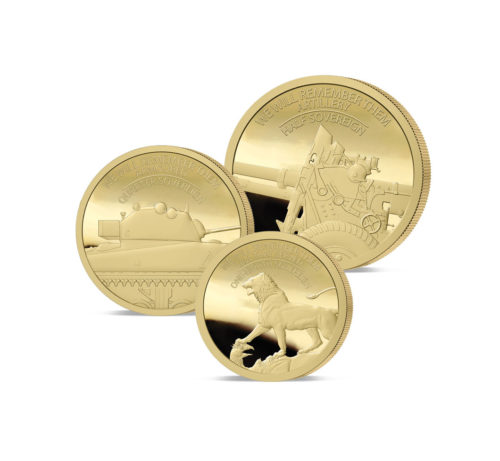 We Will remember Them Gold Fractional Sovereign Set