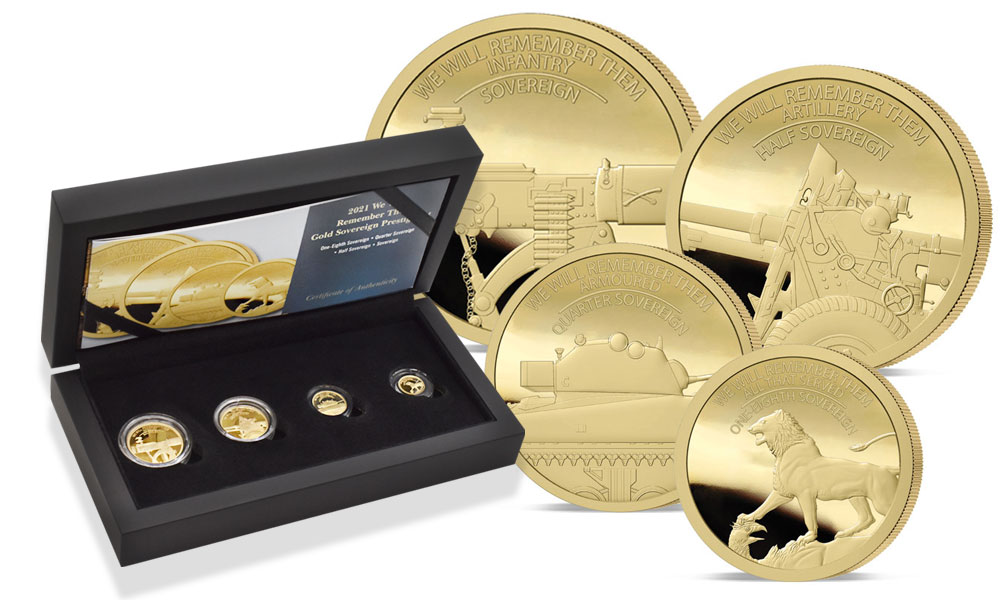We Will Remember Them coin designs